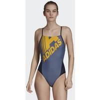 adidas Performance ADIDAS LOGO FITNESS SWIMSUIT Kostium kąpielowy blue AD581G02Y