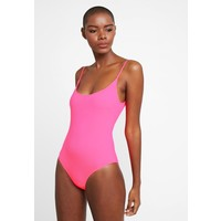 Even&Odd Kostium kąpielowy neon pink EV481G00U