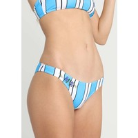 Topshop STRIPE HIGH LEG Dół od bikini blue TP781I00N