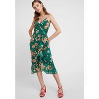 Bardot MALIKA FLORAL DRESS Długa sukienka orange B0M21C03N