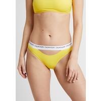 Calvin Klein Swimwear CK LOGO CLASSIC Dół od bikini habanero gold C1781I00V