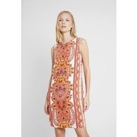 Wallis MANTRA PLACED PINNY Sukienka letnia orange WL521C0OF