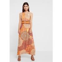 Wallis TILE DRESS Długa sukienka orange WL521C0MZ