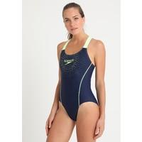 Speedo SPORTS LOGO Kostium kąpielowy navy/green 1SP81G02E