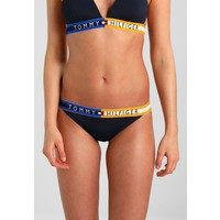 Tommy Hilfiger TOMMY LOGO CHEEKY Dół od bikini blue TO181I004