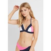 Tommy Hilfiger TOMMY ARCHIVE TRIANGLE Góra od bikini shocking pink TO181J00Q