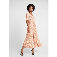 Warehouse DAISY TIERED DRESS Długa sukienka orange WA221C0L4