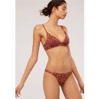 OYSHO Dół od bikini brown OY181I068