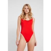 Calvin Klein Swimwear INTENSE POWER SCOOP ONE PIECE Kostium kąpielowy fiery red C1781G00I