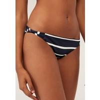 OYSHO MIT MARITIMEN STREIFEN Dół od bikini blue OY181I05Z