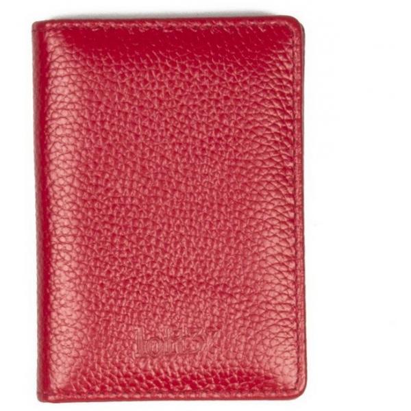 9e9094713e950 Loft37 Portfel na karty kredytowe czerwony - UbierzmySie.pl