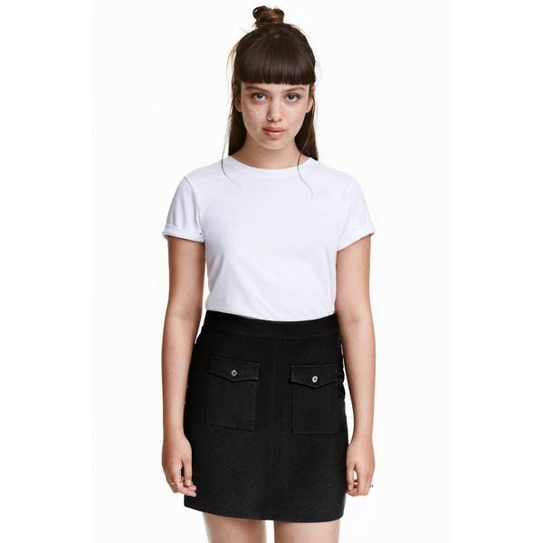 h m a line skirt 0408753004 black ubierzmysie pl