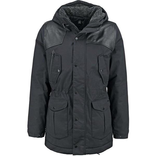 Volcom STARGET NUTS Płaszcz zimowy black combo V1922L00A Q11