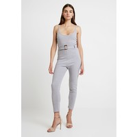 Missguided BELTED JOGGER CUFF Kombinezon grey M0Q21T06W