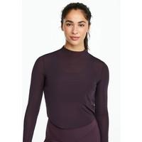 OYSHO_SPORT Bluzka z długim rękawem dark purple OY241D00O