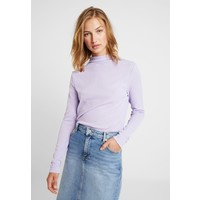 Weekday FLUTE TURTLENECK Bluzka z długim rękawem purple WEB21D045