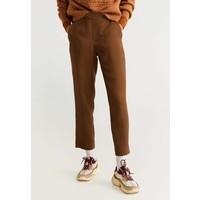 Mango GOMA Spodnie materiałowe medium brown M9121A1SP