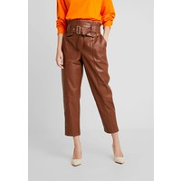 River Island Spodnie materiałowe brown RI921A06C