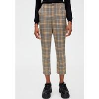 PULL&BEAR Spodnie materiałowe yellow PUC21A0BE