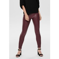 ONLY ONLVIVI Legginsy tawny port ON321A0WC
