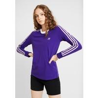 adidas Originals ADICOLOR 3 STRIPES LONGSLEEVE TEE Bluzka z długim rękawem collegiate purple AD121D0JR