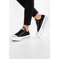 Converse CHUCK TAYLOR ALL STAR LIFT Sneakersy niskie black/garnet/white CO411A0NK