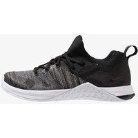 Nike Performance METCON FLYKNIT 3 Obuwie treningowe black/matte silver/white N1241A0SS