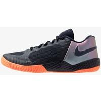 Nike Performance FLARE 2 Buty tenisowe na nawierzchnię ziemną dark obsidian/hyper crimson N1241A0TL