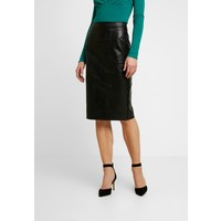 Warehouse CROC PENCIL SKIRT Spódnica ołówkowa black WA221B04Z