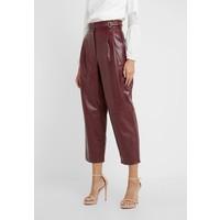 TWINSET PANTALONE Spodnie materiałowe red TW321A00M