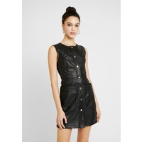 Vero Moda VMAWARDSILLE COATED MINI DRESS Sukienka letnia black VE121C1Z2