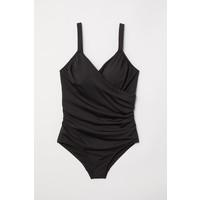 H&M H&M+ Kostium kąpielowy 0551379007 Czarny