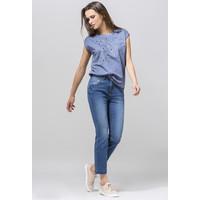Monnari Jeansy z nogawkami 7/8 i aplikacjami 19J-TRU3120-K012