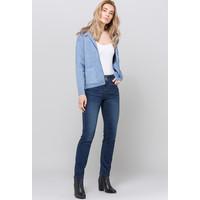 Monnari Ciemne jeansy z wyższym stanem 19J-TRU3150-K012