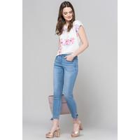 Monnari Jeansy z wiązaniem przy nogawce 19L-TRU1420-K012