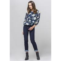 Monnari Ciemne jeansy z wyższym stanem 19J-TRU3150-K013