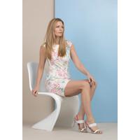 Monnari Koktajlowa sukienka w kwiaty 18L-DRE0930-KM00