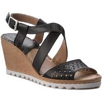 Sandały Lasocki H687 Czarny