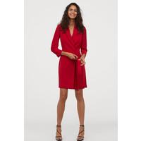 H&M Sukienka żakietowa 0663564001 Czerwony