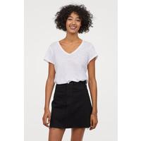 H&M Spódnica dżinsowa 0688105008 Czarny