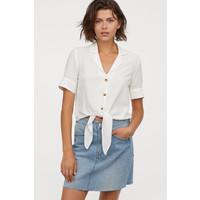 H&M Spódnica dżinsowa 0688105008 Niebieski denim