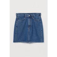 H&M Spódnica dżinsowa 0688105008 Niebieski