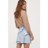H&M Spódnica dżinsowa 0688105008 Jasnoniebieski denim/Batik