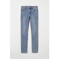 H&M Spodnie Skinny Fit 0562245006 Jasnoniebieski denim