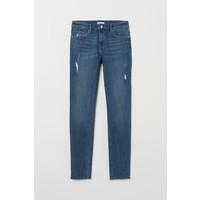 H&M Spodnie Skinny Fit 0562245006 Ciemnoniebieski