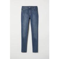 H&M Spodnie Skinny Fit 0562245006 Ciemnoniebieski denim