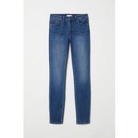 H&M Spodnie Skinny Fit 0562245006 Sprany niebieski denim
