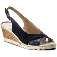 Sandały Lasocki H044 Granatowy