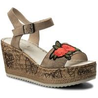 Sandały Lasocki H206 Beżowy