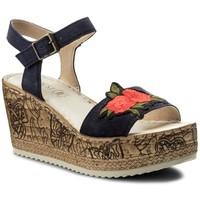 Sandały Lasocki H206 Granatowy